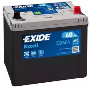 Акумулятор на MAZDA PREMACY 'EXIDE EB604'.