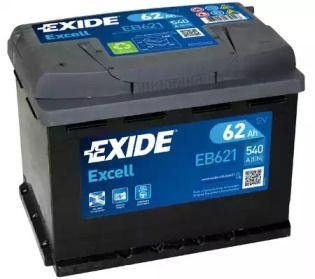 Аккумулятор на Сеат Толедо 'EXIDE EB621'.