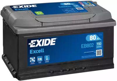 Акумулятор на Ніссан Навара 'EXIDE _EB802'.