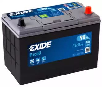 Акумулятор на ISUZU MIDI 'EXIDE EB954'.