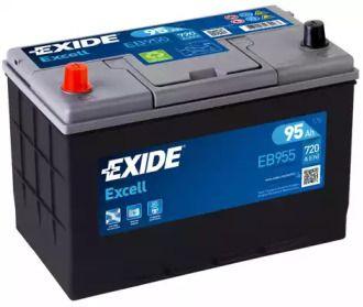 Акумулятор на Ісузу Міді 'EXIDE EB955'.
