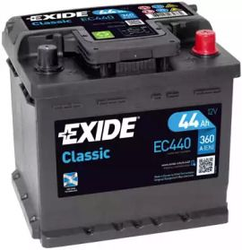 Акумулятор на DACIA SOLENZA 'EXIDE EC440'.