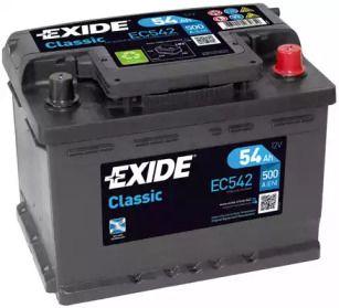 Акумулятор на Мазда МХ5 'EXIDE EC542'.