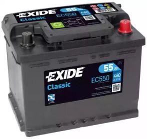 Акумулятор 'EXIDE EC550'.