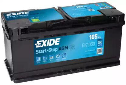Аккумулятор 'EXIDE EK1050'.