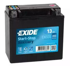 Акумулятор 'EXIDE EK131'.