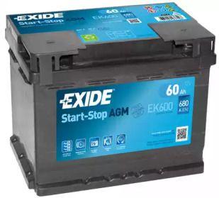 EXIDE EK600