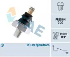 Датчик тиску масла на MAZDA E-SERIE FAE 10610.