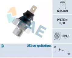 Датчик тиску масла 'FAE 11270'.