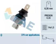 Датчик тиску масла FAE 11410.