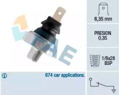 Датчик тиску масла на MAZDA MX-5 'FAE 11610'.