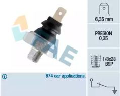 Датчик тиску масла FAE 11610.