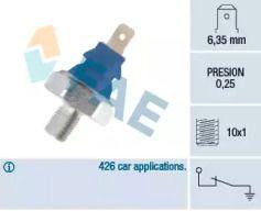Датчик тиску масла FAE 11690.