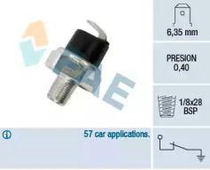 Датчик тиску масла на Мітсубісі Карізма 'FAE 11730'.
