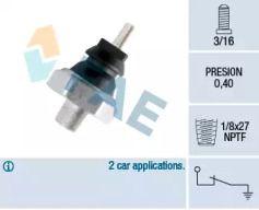 Датчик тиску масла FAE 12180.