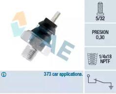 Датчик давления масла на Мазда 121 'FAE 12220'.
