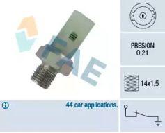 Датчик тиску масла FAE 12350.