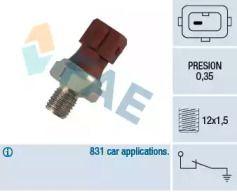 Датчик тиску масла FAE 12410.