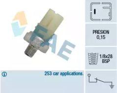 Датчик тиску масла FAE 12420.