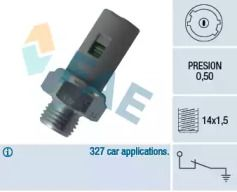 Датчик тиску масла FAE 12636.