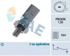Датчик тиску масла FAE 12840.