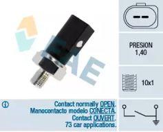 Датчик давления масла на SKODA OCTAVIA A5 'FAE 12850'.