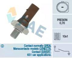Датчик тиску масла FAE 12890.