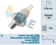 Датчик тиску масла FAE 12910.