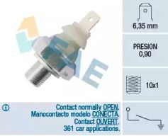 Датчик тиску масла FAE 12930.