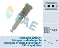 Датчик стоп-сигнала на AUDI A6 'FAE 24560'.