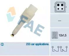 Датчик стоп-сигнала на AUDI A6 'FAE 24565'.