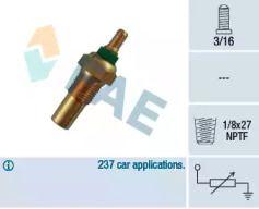 Датчик температури охолоджуючої рідини 'FAE 32010'.