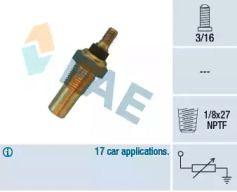 Датчик температури охолоджуючої рідини FAE 32040.