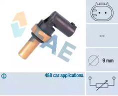 Датчик температури охолоджуючої рідини на Мерседес W211 FAE 32710.