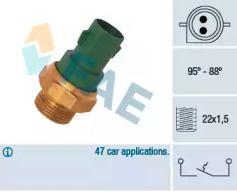 Датчик включення вентилятора FAE 37240.