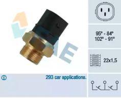Датчик включения вентилятора на Сеат Альтеа 'FAE 38180'.