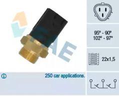 Датчик включения вентилятора на SEAT ALTEA 'FAE 38185'.