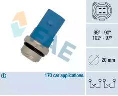 Датчик включення вентилятора FAE 38391.