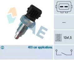 Выключатель фары заднего хода FAE 40660.