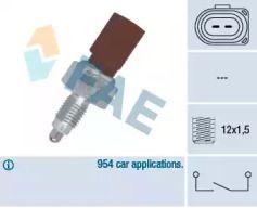 Выключатель фары заднего хода на SKODA OCTAVIA A5 'FAE 40675'.