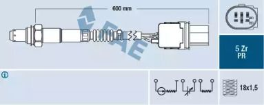 Лямбда зонд на Mercedes-Benz GLK  FAE 75063.