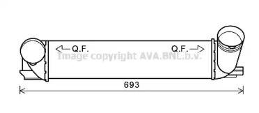 Інтеркулер AVA BWA4473.