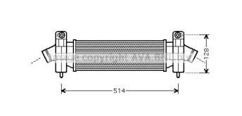 Інтеркулер AVA FDA4341.