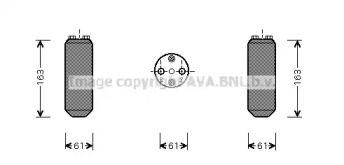 Осушувач, кондиціонер на MAZDA PREMACY  AVA MZD150.