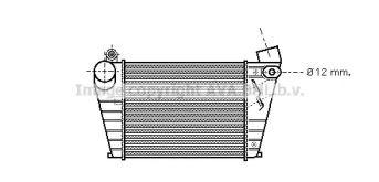 Интеркулер на Фольксваген Гольф 'AVA VWA4200'.
