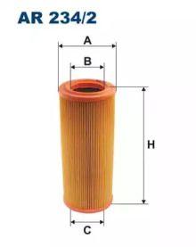 Воздушный фильтр 'FILTRON AR234/2'.