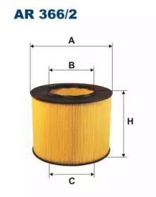 Воздушный фильтр 'FILTRON AR366/2'.