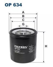 Масляный фильтр FILTRON OP634.
