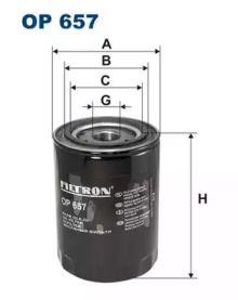 Масляний фільтр FILTRON OP657.