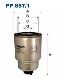 Топливный фильтр FILTRON PP857/1.